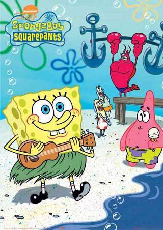 Spongebob Patrick Birthday Cake