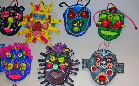 mascaras papel maché