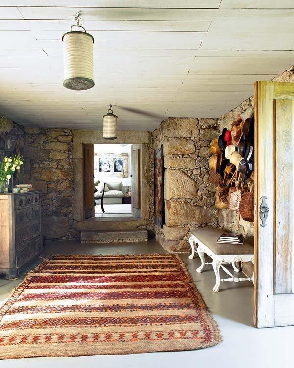 Casa tr s chic casa de campo em portugal - Decoradora de casas ...