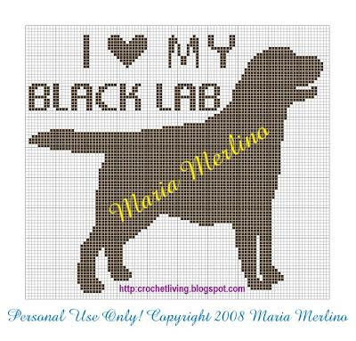 Crochet Living: Crochet Labrador Retriever Chart or Graph!