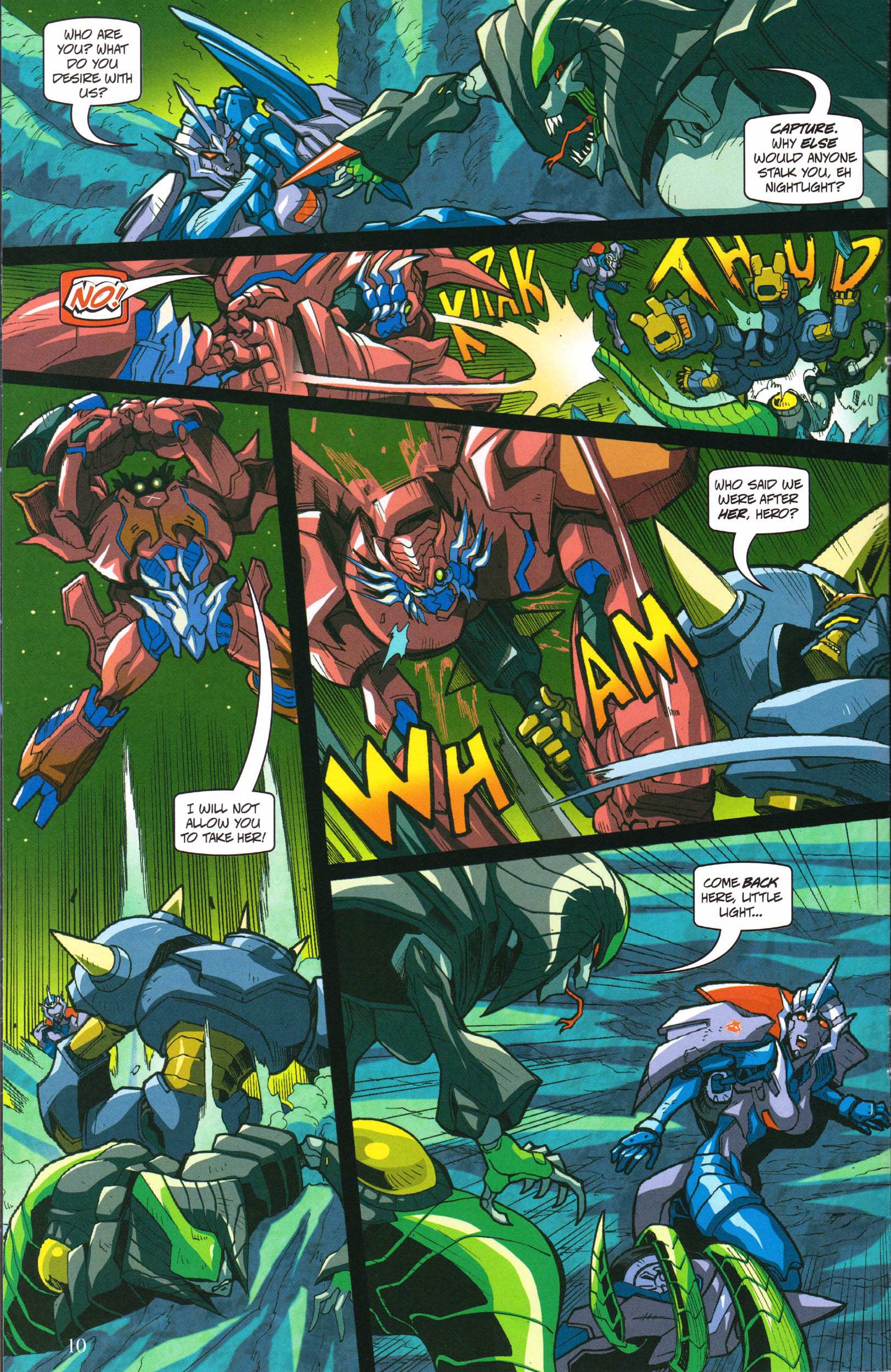 Read online Transformers: Collectors' Club comic -  Issue #58 - 10