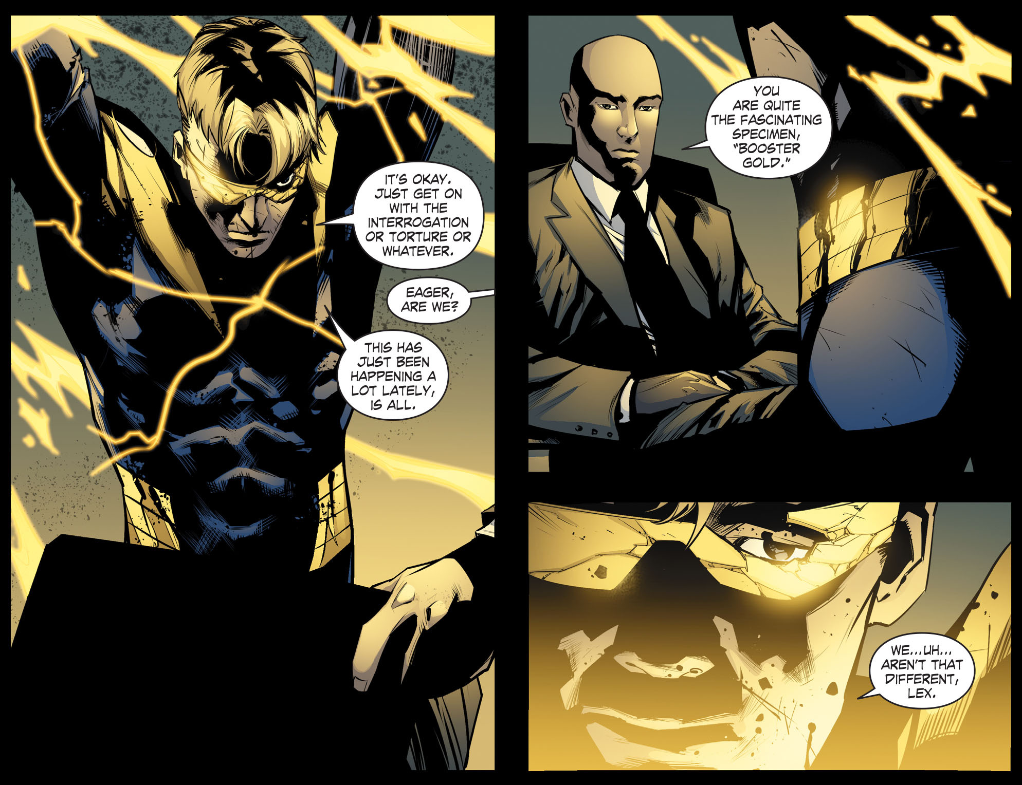 Read online Smallville: Chaos [II] comic -  Issue #8 - 4