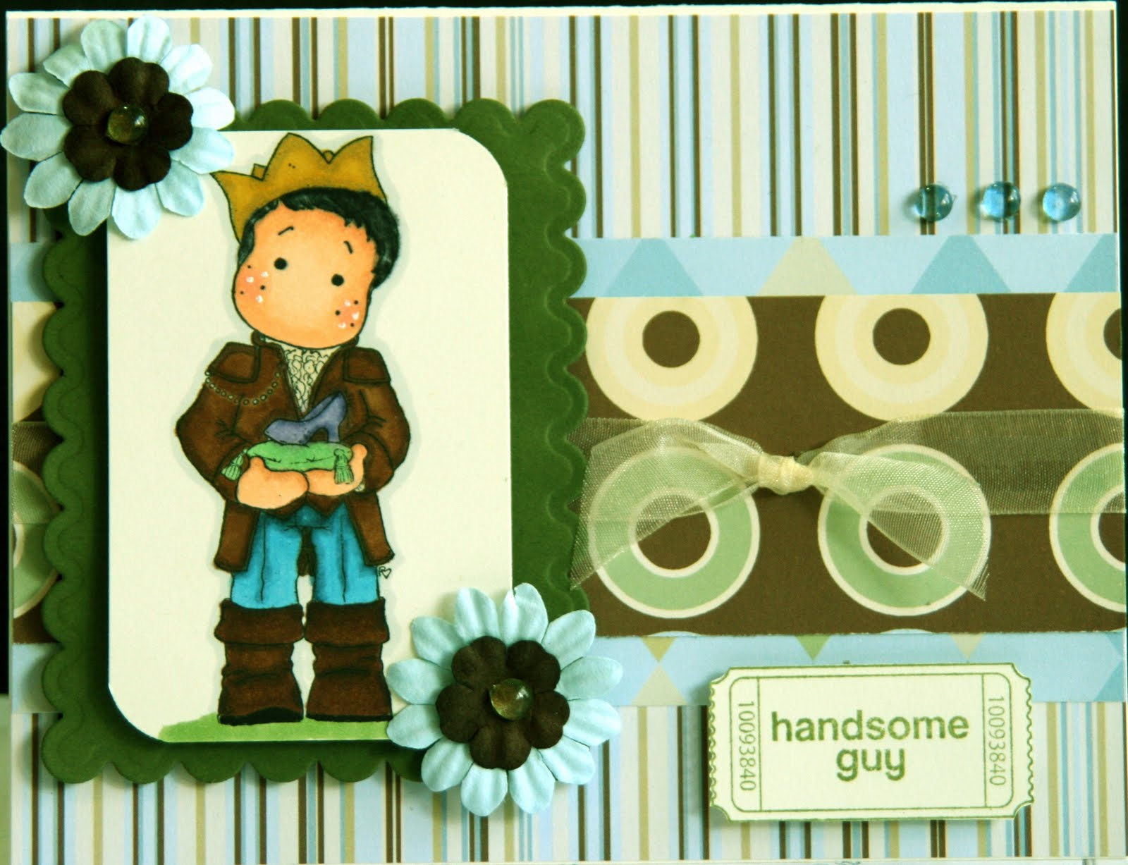 It S A Girl Thing Prince Edwin Magnolia Stamp Father