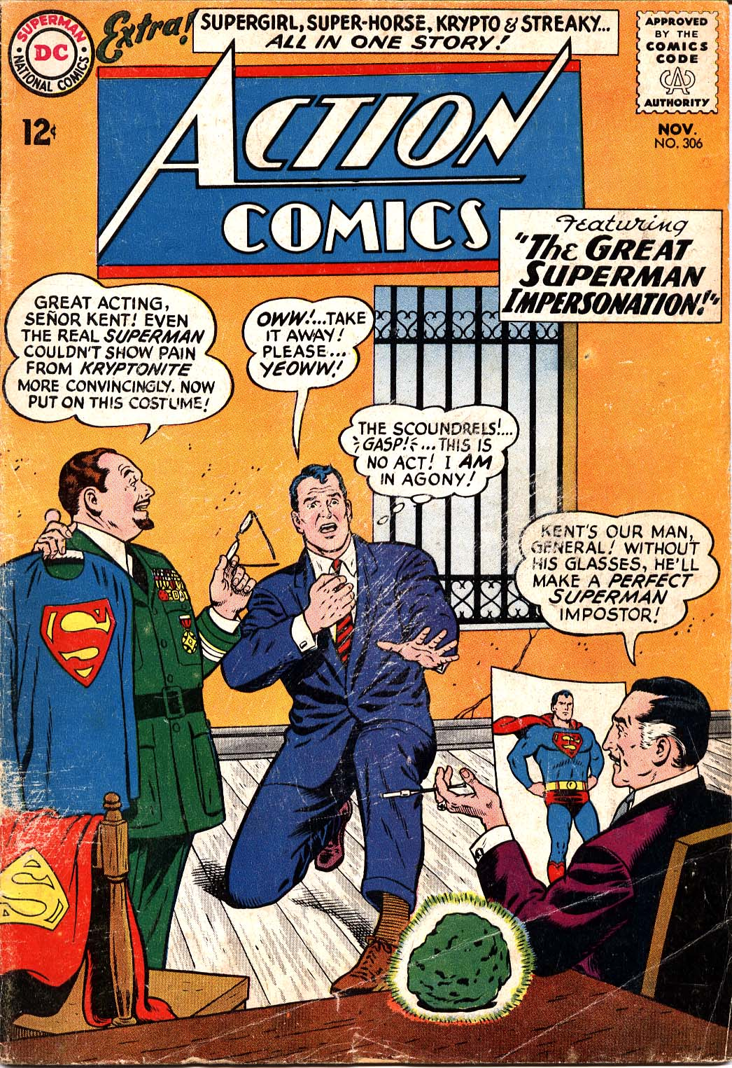 Action Comics (1938) 306 Page 1