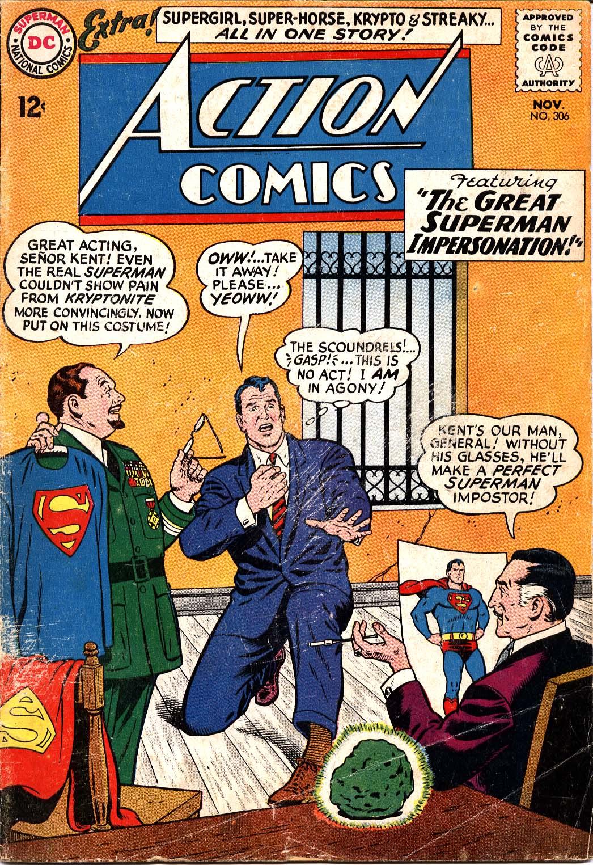 Action Comics (1938) 306 Page 1