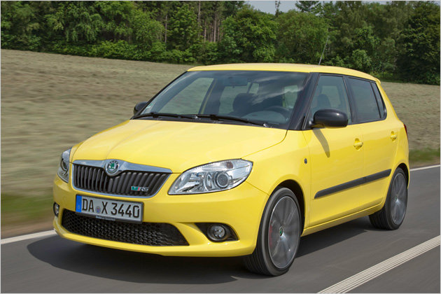 skoda fabia rs prices for the sport version garage car. Black Bedroom Furniture Sets. Home Design Ideas