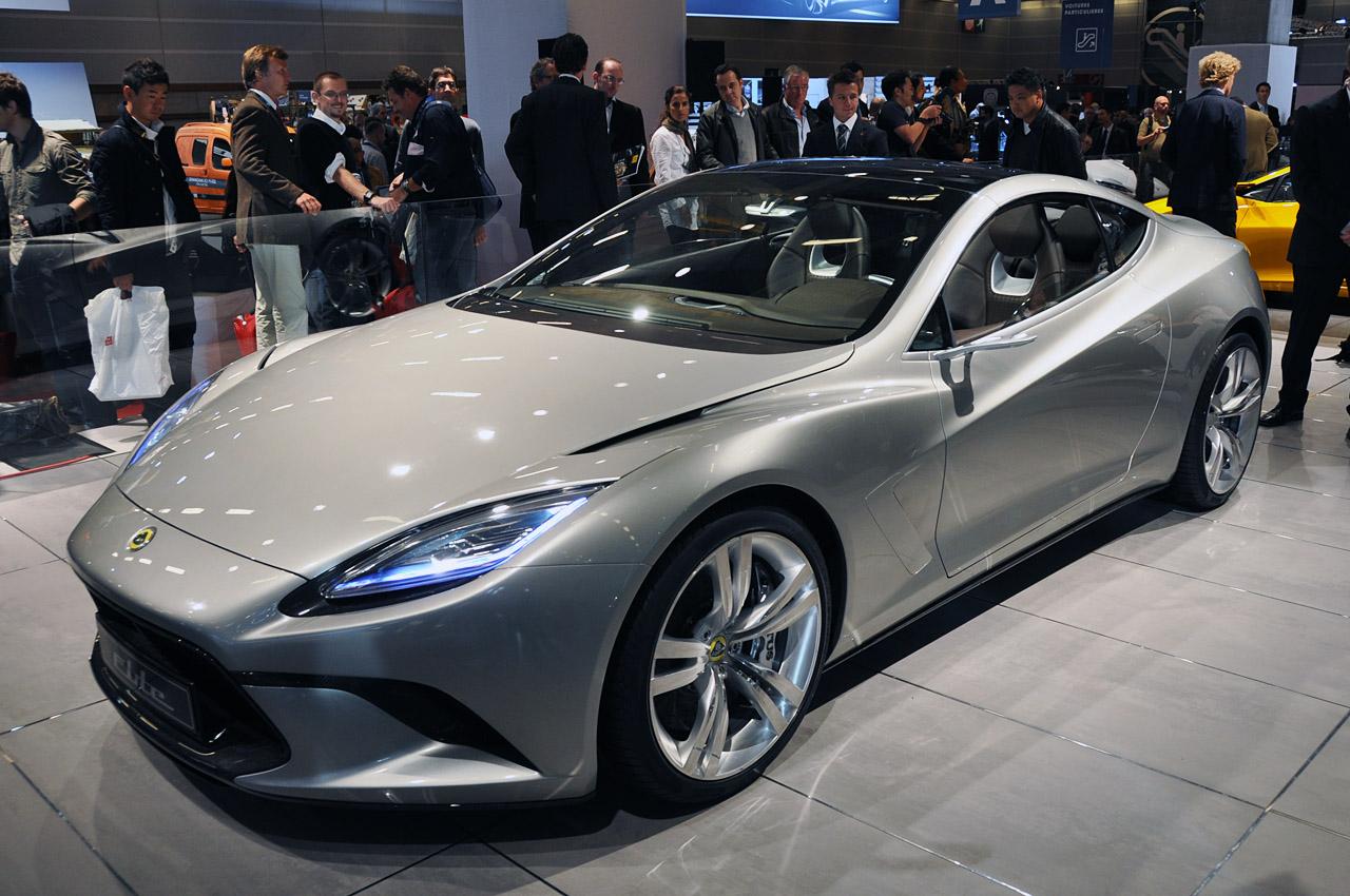 Elite Motor Cars: Looks Like A Car: Concept Supercar Lotus Elite Open Body