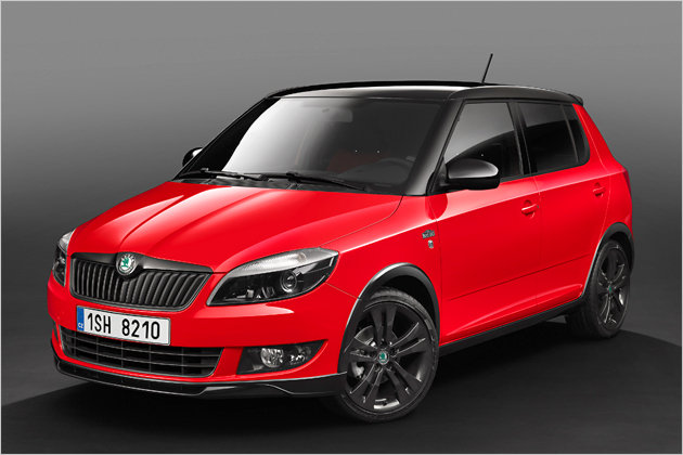 road sport special model skoda fabia monte carlo garage car. Black Bedroom Furniture Sets. Home Design Ideas