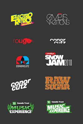 Various Logos and Type Treatments | Darryl Graham