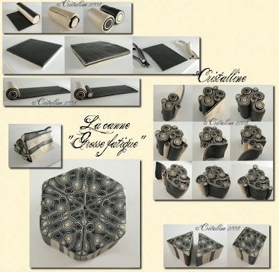 fimo cristalline tuto et bijoux en polym re coup de fatigue d j. Black Bedroom Furniture Sets. Home Design Ideas