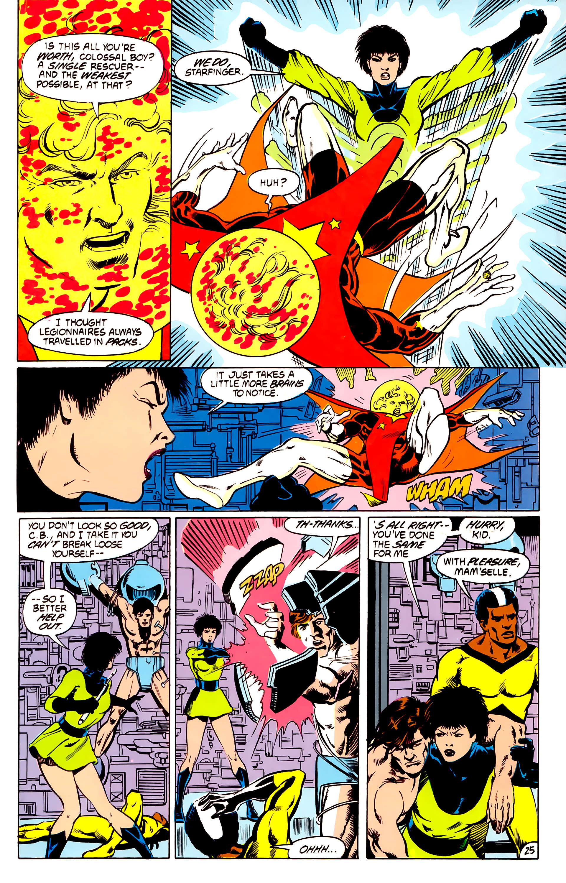 Legion of Super-Heroes (1984) _Annual_4 Page 25