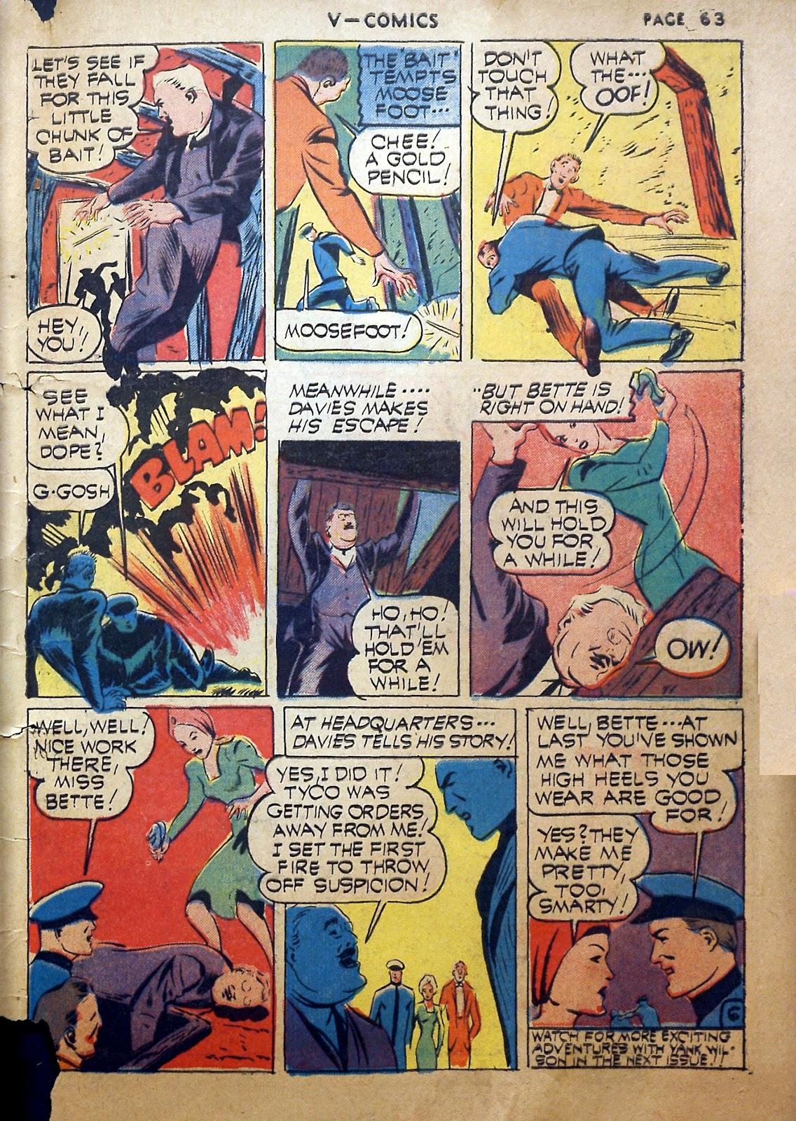 Read online V...- Comics comic -  Issue #2 - 64