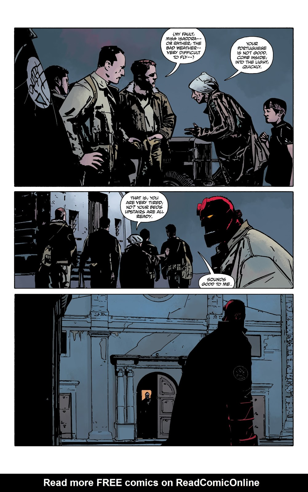 Read online Hellboy and the B.P.R.D. comic -  Issue # _TPB - 25