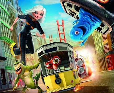 Monsters vs Aliens a Dreamworks movie
