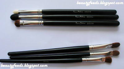 my beauty scribblings sigma makeup brushes  for eyes
