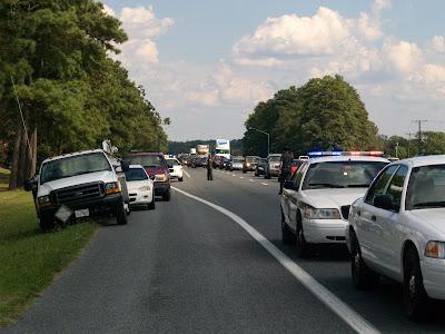 Salisbury News: Single Vehicle Accident On Rt 50 West Backs