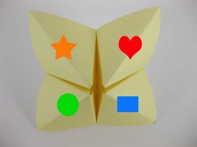 Origami-Instructions.com: Origami Fortune Teller or Chooser - photo#24
