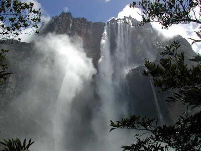 angel falls 10 Air Terjun Tertinggi di Dunia