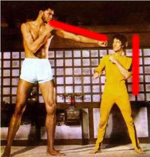 Bruce Lee vs. Kareem Abdul-Jabbar