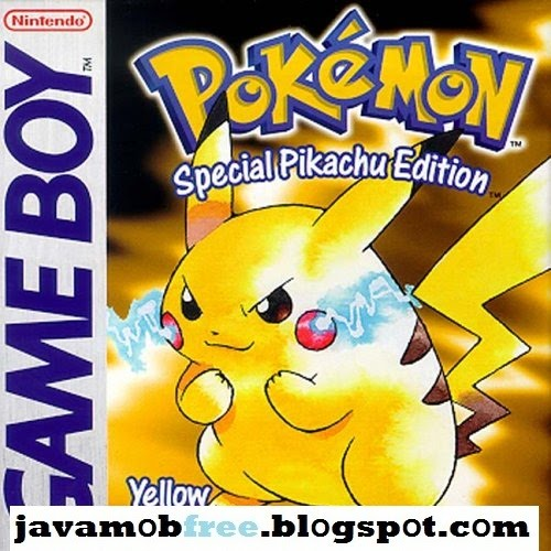 DOWNLOAD JAVA GAMES MOBILE PREMIUM: Pokemon Yellow Meboy