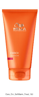 Wella Enrich Self- Warming Mask review