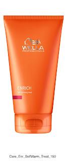 Wella Enrich Self- Warming Mask review
