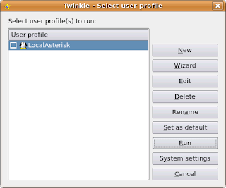 James Moore's code blog: Setting up Twinkle and asterisk on