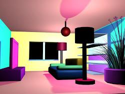Cartoon Animated House Inside 2