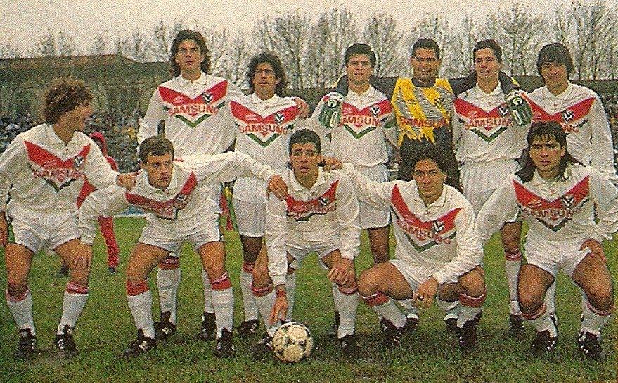 Camisetas viejas: Vélez / Umbro / 1993