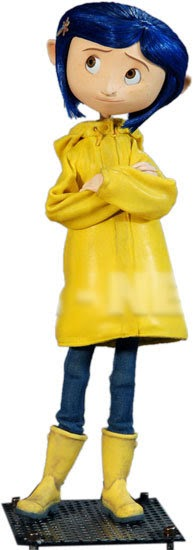 With Ruffles Coraline Raincoat Costume