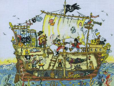 Pirate Ship Pattern Free Patterns
