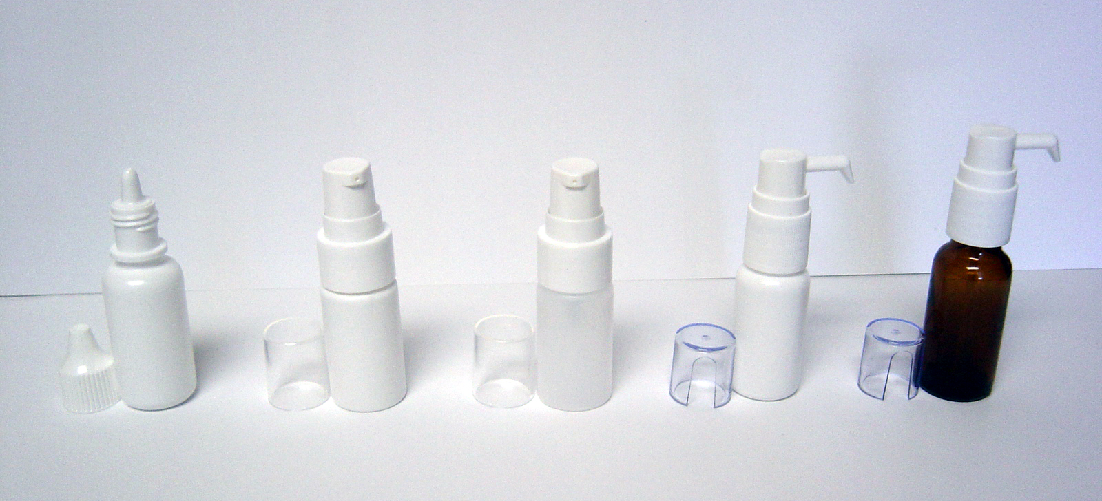 Bottles / Vials for Allergy Drops (Under Tongue