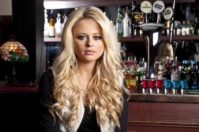 Emily Atack is British actress