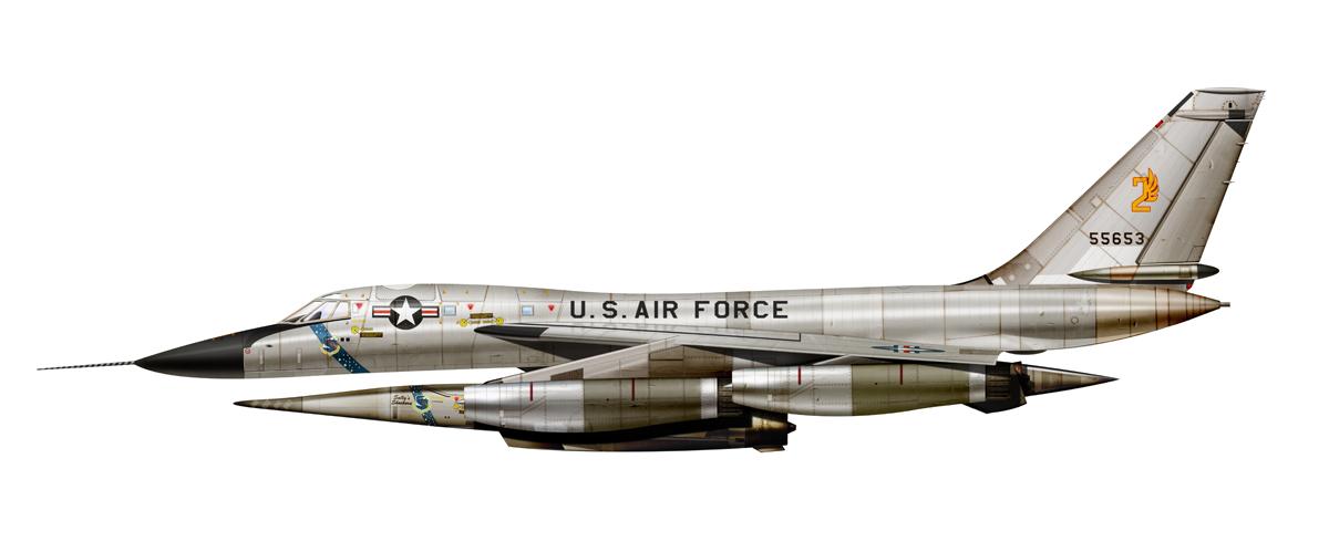 The Aviation Design Boneyard: Super Hustler with B-58 ...