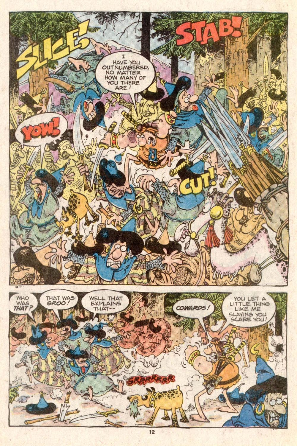 Read online Sergio Aragonés Groo the Wanderer comic -  Issue #31 - 11