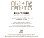 Mike & the Mechanics - Nobody's Perfect