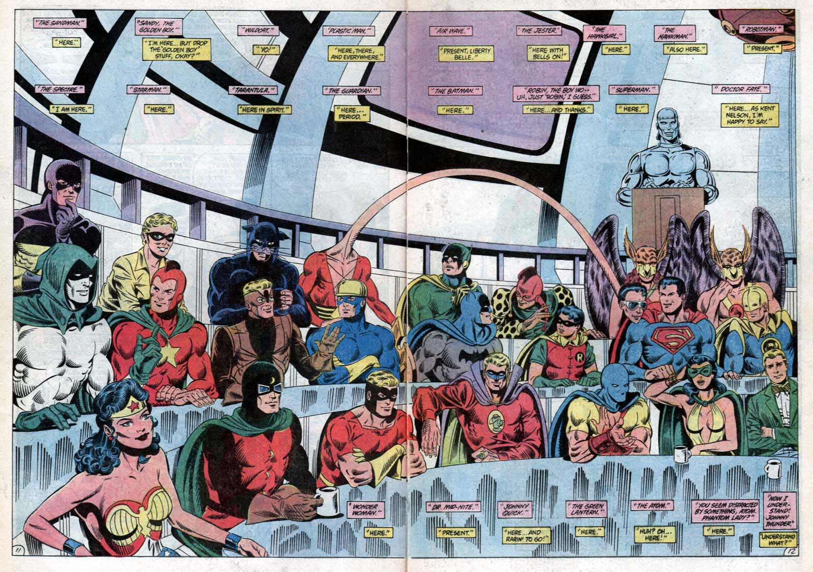 Read online All-Star Squadron comic -  Issue #31 - 16