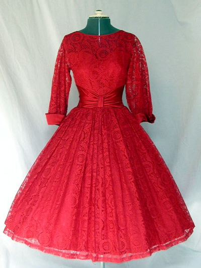 c8d17b356157 Gertie's New Blog for Better Sewing: Another Case for Red Lace