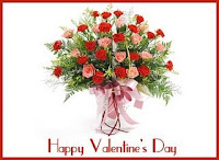happy valentine day flower bouquet pictures