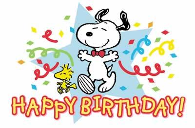 Birthday Greeting Cards Snoopy Jpg 400x263