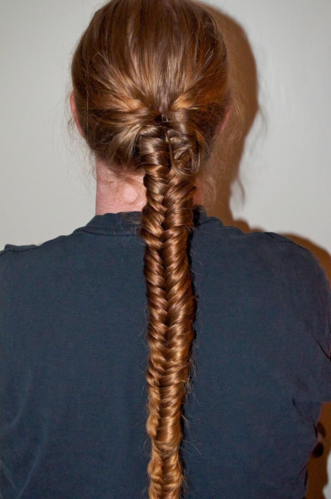 Hair, There and Everywhere: Herringbone Braid