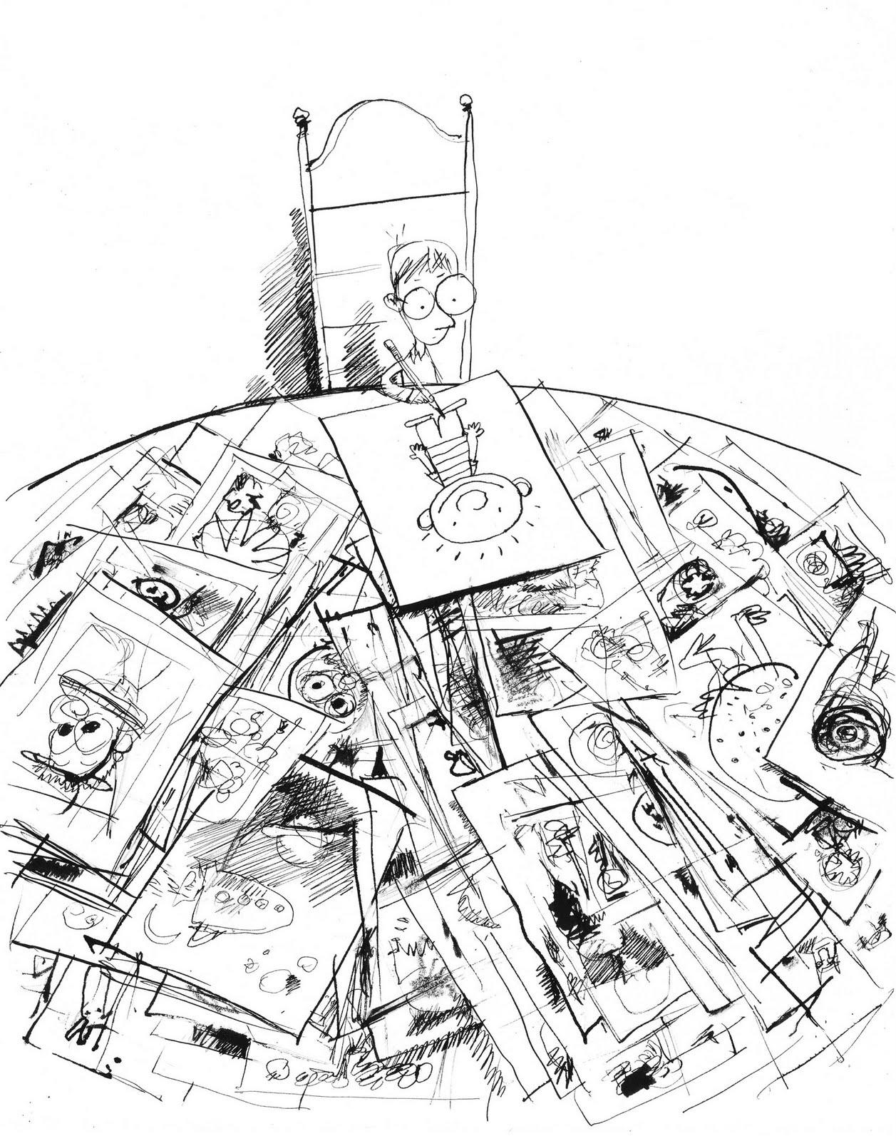 cul de sac: Autobiography in Three Drawings