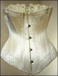 9d62ba9281a During the Victorian Era the function of the corset was primarily the  narrowing of the waist. It is rumored that some women laced their corsets  so tightly ...