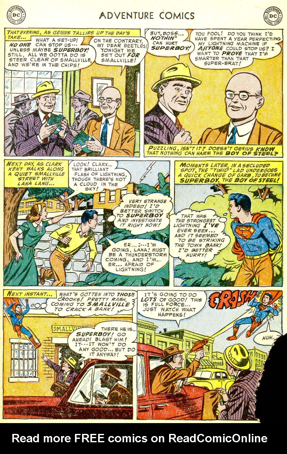 Read online Adventure Comics (1938) comic -  Issue #194 - 5
