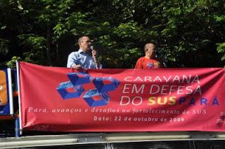ae61d63aec O deputado estadual Carlos Martins (PT) esteve presente