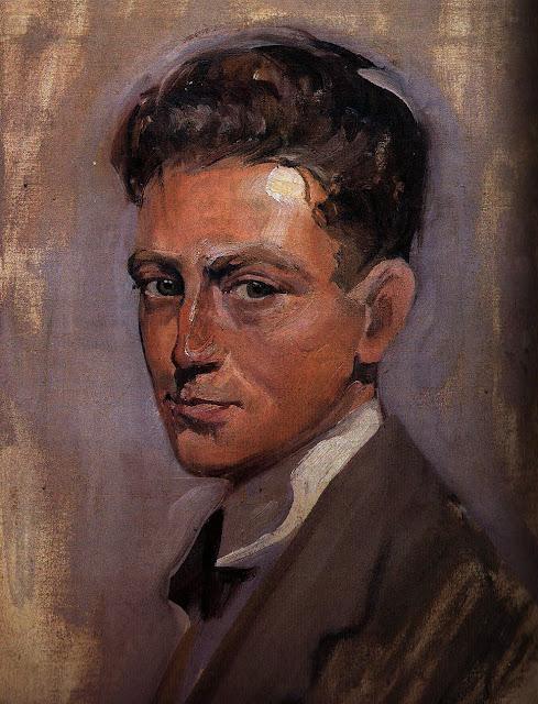 José Manaut Viglietti, Self Portrait, Portraits of Painters, Fine arts, José Manaut