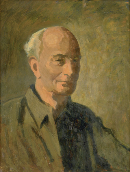 Roland Wakelin, Self Portrait, Portraits of Painters, Fine arts