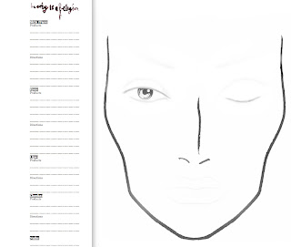 Pin Mac Printable Face Charts Training Manuals Updates And