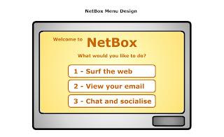 MSc HCI 2007 Blog: Netbox: Product Software