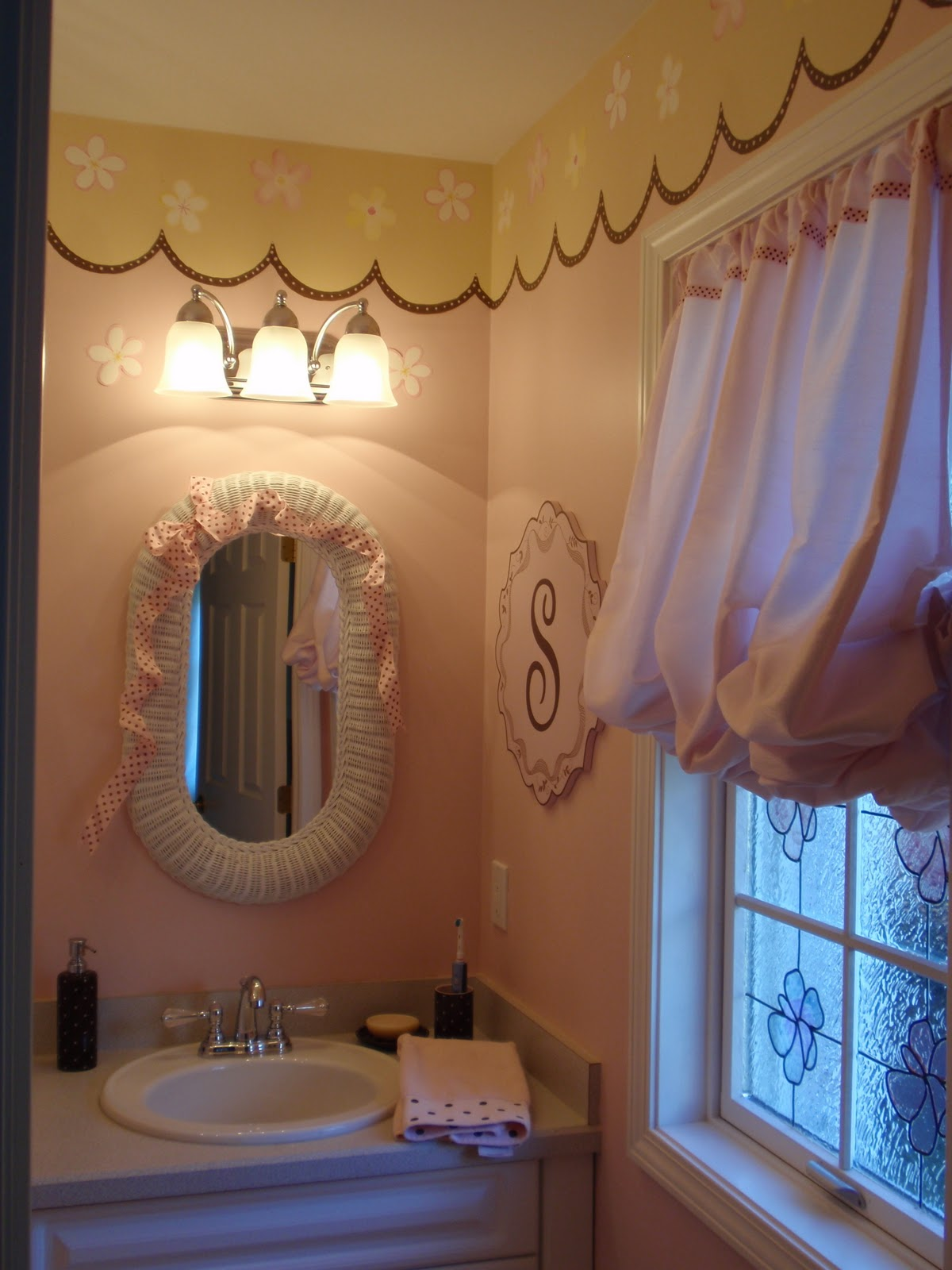 DIY by Design Little Girls Bathroom